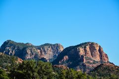 Towering landscape in Sedona Arizona.  Stock Image