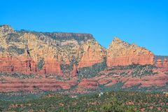 Towering landscape in Sedona Arizona.  Royalty Free Stock Photo