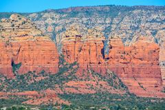 Towering landscape in Sedona Arizona.  Stock Photography