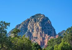 Towering landscape in Sedona Arizona.  Royalty Free Stock Image