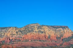 Towering landscape in Sedona Arizona Stock Photography