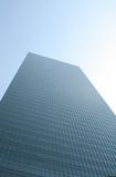 Towering Leadership of a Lone Building Royalty Free Stock Photography
