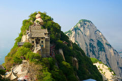The towering north peak_Hua mountain_xian Royalty Free Stock Image