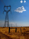 Towering Power Structure Stock Images