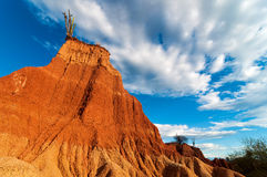 Towering Red Rock Formation Royalty Free Stock Image