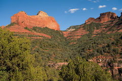 Towering Red Rock Formations of Sedona Royalty Free Stock Photos