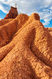 Red Desert Tower Royalty Free Stock Photo