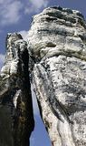 Towering rock pinnacles Royalty Free Stock Photos