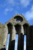Towering Ruins of the Rock of Cashel Stock Photo