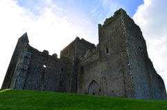 Towering Stone Ruins of the Rock of Cashel Royalty Free Stock Images