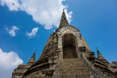Towering Temple Ruins. Phra Nakhon Si Historical Park in Ayutthaya, Thailand Stock Image