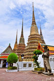 Towering Wat Pho. Stock Photography