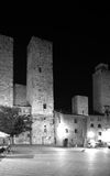 Towers. The original tower from médieval city in san Gimignano Stock Photos