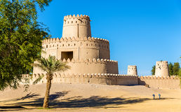 Towers of Al Jahili Fort in Al Ain Royalty Free Stock Photos