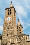 Towers in Aosta Royalty Free Stock Photo