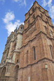Towers of Astorga Cathedral Royalty Free Stock Photography
