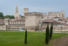 The towers of Avignon Royalty Free Stock Photos
