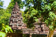 Towers of Banteay Srei Royalty Free Stock Photography