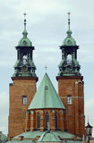 The towers of the Basilica Royalty Free Stock Photo