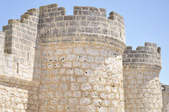 Towers and battlements Royalty Free Stock Photo