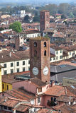 Towers and Belfries in Lucca Royalty Free Stock Images