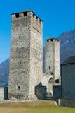 Towers of Bellinzona, Switzerland Royalty Free Stock Images