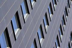 Towers on blue sky windows Stock Image