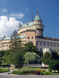 Towers of Bojnice castle, Slovakia Stock Photography