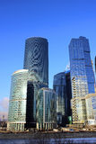 Towers of business center Moscow City Stock Photo