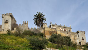 Castle of Almodovar del Rio, Andalusia, Spain Royalty Free Stock Photography