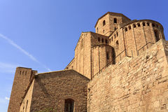 Towers of Castle of Cardona Stock Photo