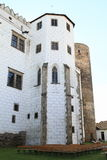 Towers on castle in Jindrichuv Hradec Royalty Free Stock Images
