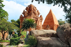 Towers Cham civilization. Nha Trang, Vietnam Stock Image
