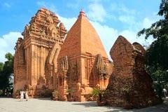Towers Cham civilization. Nha Trang, Vietnam. Towers were built by the Cham civilization. Thap ba Ponagar. Nha Trang, Vietnam royalty free stock photos
