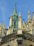 The towers of a church in Nancy Royalty Free Stock Image