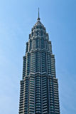 Towers in the city Kuala Lumpur Stock Photography