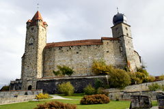 Towers of Coburg castle in Bavaria Germany Royalty Free Stock Images