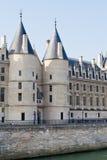 Conciergerie palace in Paris Stock Image