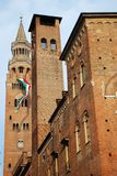 Towers, Cremona Stock Images