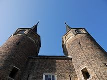 Towers Delft Stock Photography