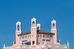Towers on the Don Cesar Hotel Stock Images
