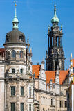 Towers in Dresden Royalty Free Stock Image