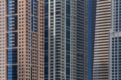 Towers in Dubai Royalty Free Stock Image
