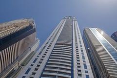 Towers of Dubai Royalty Free Stock Image