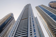 Towers in Dubai Royalty Free Stock Photo