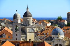 Towers from dubrovnik, croatia Royalty Free Stock Images