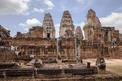 Towers Of East Mebon Stock Photography
