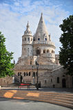 Towers of Fisherman bastion, Buda Royalty Free Stock Photography