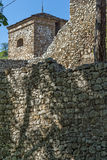Towers and fortess wall in Pirot, Serbia Stock Images