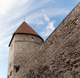Towers in a fortification Stock Photos